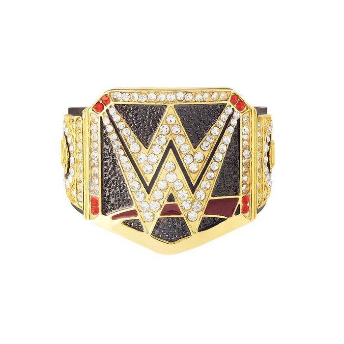 ☆阿Su倉庫☆WWE摔角 World Heavyweight Championship Finger Ring 限量戒指