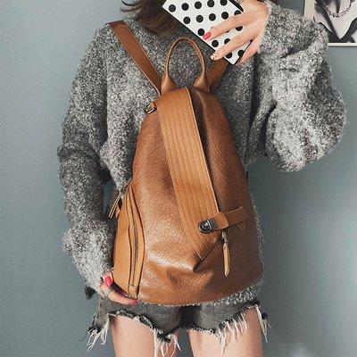 雙肩包 後背包 書包 旅行包 背包雙肩包女新款日版古著感少女書包高中學生大背包ins旅行包潮