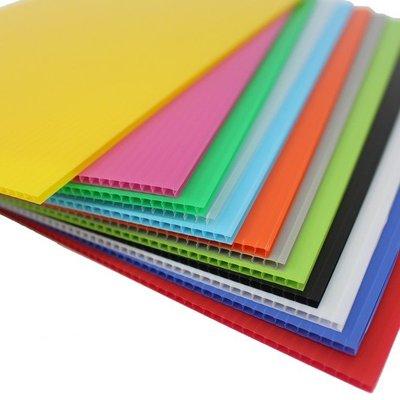 特大張塑膠瓦楞板 PP瓦楞板 厚度3mm/一袋10大張入(定199) 100cm x 180cm 廣告板 (體積太大只接