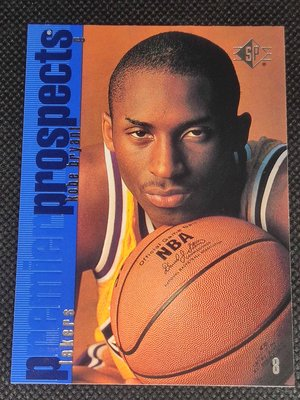 1996-97 Upper Deck Kobe Bryant  SP Premier Prospects Rookie RC #134