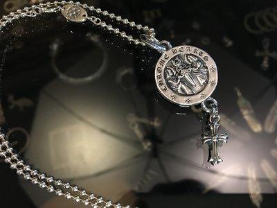 造夢師 手工製作【Chrome Hearts】【復刻】Angel medal V2 圓牌墜飾 925純銀 吊墜/項鍊
