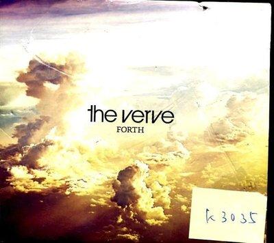 *真音樂* THE VERVE / FORTH 歐版 二手 K3035 (封面破) (清倉.下標賣5)