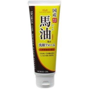日本LOSHI北海道馬油保濕泡沫洗面乳...