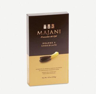 (預購)(下標前請先詢問)義大利波隆那 Majani dark chocolate orange peels 橘子條黑巧克力 230g