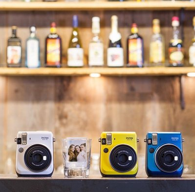 BaiBaicamera 富士 拍立得相機 - mini70 mini 70 另售 拍立得底片 相紙 自拍模式  貼紙