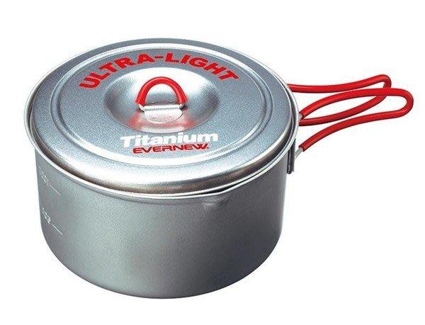 (登山屋)超輕量鈦金鍋(L)型號: EN-CA253