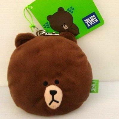 【日本 -- 晴空塔】LINE 熊大 易拉扣/票套/證件扣