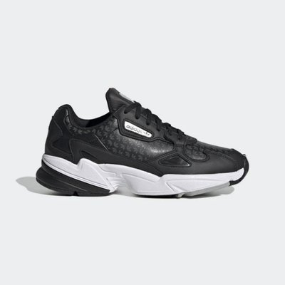 》P.S 》ADIDAS Originals Falcon W 老爹鞋 慢跑 運動鞋 舒適 女鞋 黑色 FV9033