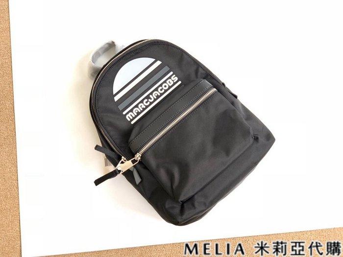 Melia 米莉亞代購 商城特價 數量有限 每日更新 MARC JACOBS MJ 雙肩包 後背包 防潑水尼龍 黑