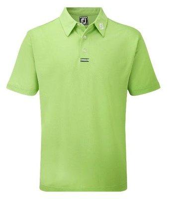 (易達高爾夫) 全新原廠FOOTJOY 22530 蘋果綠色 男短袖上衣