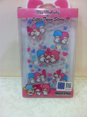 東京家族 iphone 6Plus My Melody x Little Twine Stars手機硬殼 40週年