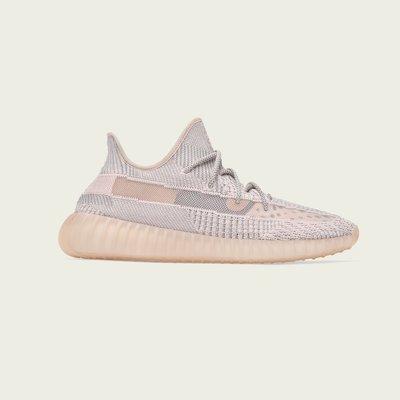 沃皮斯§Adidas Yeezy Boost 350 V2 Synth 粉天使 鞋帶反光 FV5578
