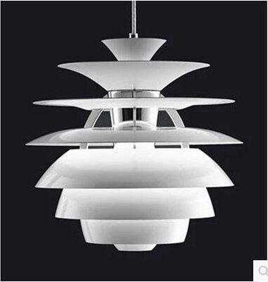 【光之家】丹麥2017新款Louis Poulsen PH Snowball Suspension Lamp鋁材雪球吊燈具