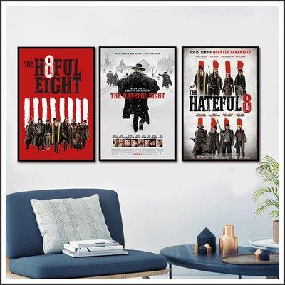 日本製畫布 電影海報 八惡人 The Hateful Eight 掛畫 嵌框畫 @Movie PoP 賣場多款海報#