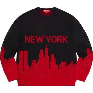 【紐約范特西】預購 Supreme SS20 New York Sweater 紐約毛衣