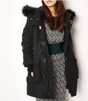 代購現貨   日本SLY 2017 17AW N3-B LONG大衣外套 黑色長版