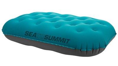 【Sea to summit】APILULDLX『方形充氣枕/20D/130g』舒適充氣枕頭吹氣枕飛機枕