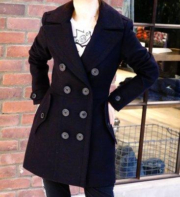 Burberry 3982705 Dillsmead trench coat 羊毛外套 深藍