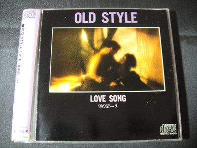【198樂坊】Old Style Love Song 5(Memory...無IFPI日製)BN