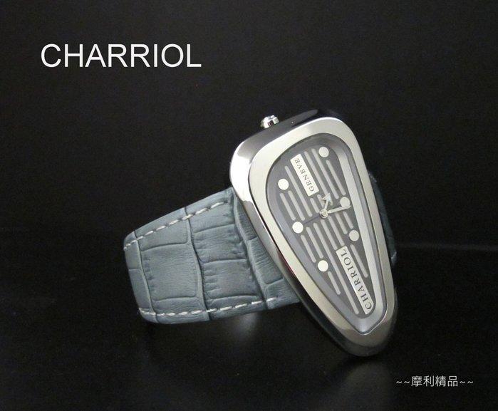 【摩利精品】CHARRIOL 夏利豪高爾夫紀念錶 *真品* 特殊款 低價特賣