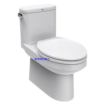 【歐築精品衛浴】AMERICAN STANDARD《美國》✰ Cadet系列單體馬桶-側邊沖水把手