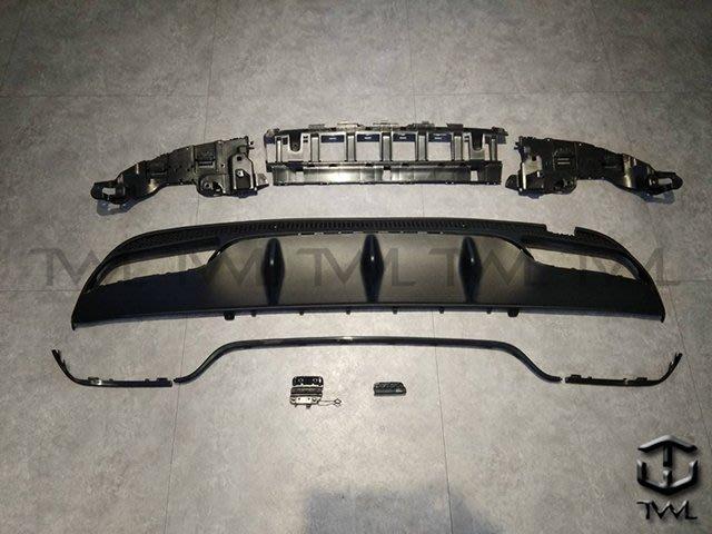 《※台灣之光※》全新BENZ賓士W205 15年AMG款4D5D後下巴素材C180 C200 C250 C300 C63