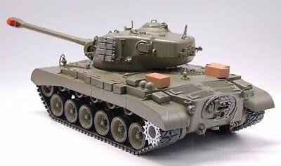 冒煙坦克  Snow Leopard M26 Pershing WWII RC Smoking & Sound 1/16