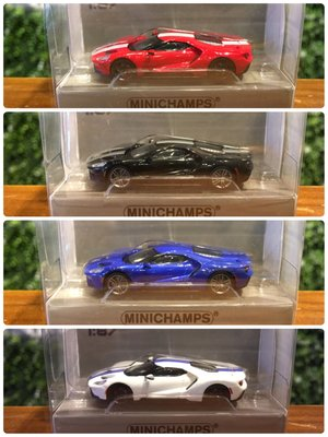 1/87 Minichamps Ford GT 2018 870088020【MGM】