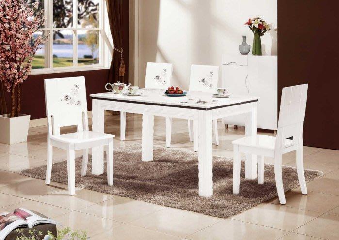 【DH】商品編號VC862-2商品名稱恩賴石面白色餐桌(圖一)備有黑玉石面/餐椅另計。主要地區免運費