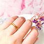 《現貨》韓國❤️雙層 水鑽 S流線 交叉 造型 戒指【Verinas韓系美飾】