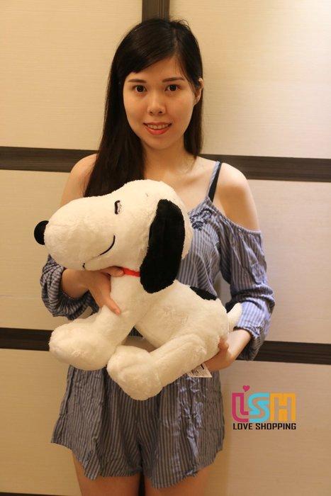 【愛購樂】 SNOOPY 史努比 43CM 正版授權 玩偶 娃娃 抱枕 日本景品 日本進口