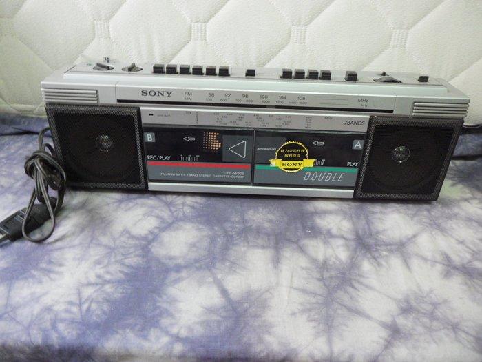 紫色小館-56--------早期SONY錄放音機