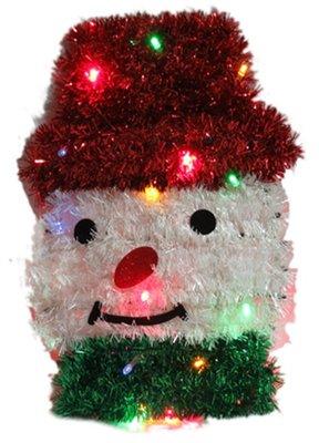 【洋洋小品LED聖誕裝飾造型燈-雪人】電池燈桃園平鎮中壢聖誕節大型場地佈置聖誕燈.聖誕花圈社區公司機關