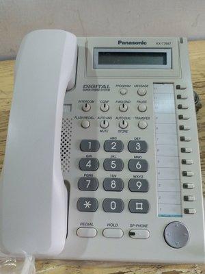 國際牌 Panasonic  KX-7667數位12鍵 顯示話機 2000 庫存量多 單次購買多台 另有折扣
