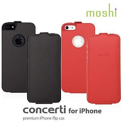 moshi Concerti for iPhone 5 iPhone SE  iPhone 5S 超薄經典 皮套 保護套