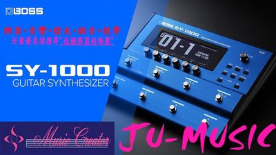 造韻樂器音響- JU-MUSIC - ROLAND BOSS SY-1000 吉他 合成器 模擬 SY1000 效果器