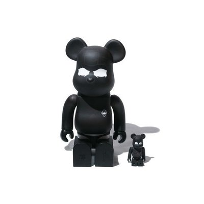 BE@RBRICK SURRENDER 遇熱變色 100% + 400%