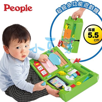People 益智手提聲光遊戲機 §小豆芽§ 日本 People 益智手提聲光遊戲機(滿月/生日/禮物)