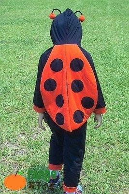 【orange親子小舖】小瓢蟲造形服(秋)/cosplay表演道具服80-110cm台灣製~純棉