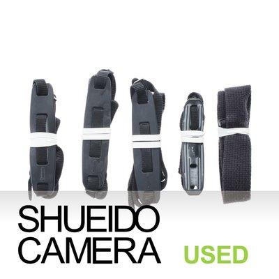 集英堂写真機【全國免運】中古實用品 / NIKON + CANON 混合搭配 相機背帶 X5條 套組 #13 13261