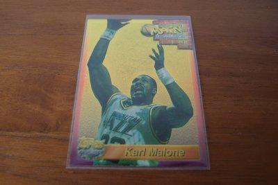 美國NBA職籃明星-Karl Malone-綽號「The Mailman(郵差)」-NBA史上總得分第二位