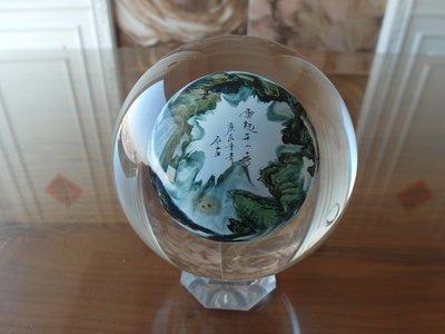 大陸球中畫-黃山