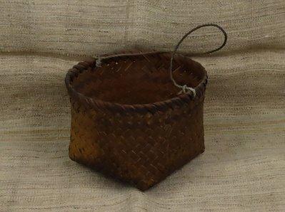 [ 珠舍 ] 原住民阿美族竹編腰袋 *低價起標*標多少賣多少*
