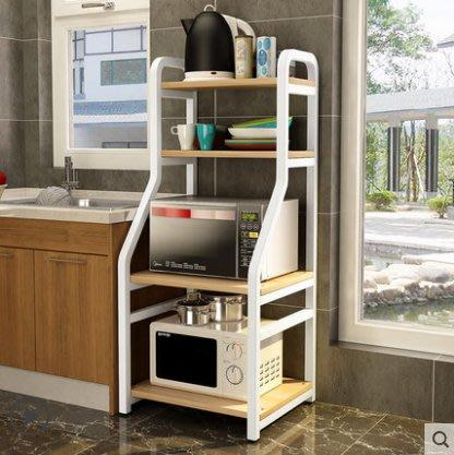 廚房置物架櫃收納架微波爐架落地多層四層五層儲物架烤箱架鍋碗架