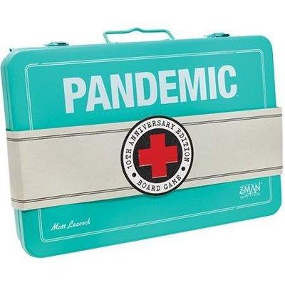 (海山桌遊城) 瘟疫危機十周年紀念版 () Pandemic 10th Anniversary中文