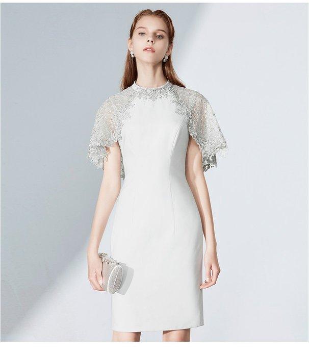 尤莉 媽媽禮服【SDS7367】媽媽裝/晚宴服/夏姿風格禮服**此款可購買、可出租,全新禮服出租價為售價的對折**