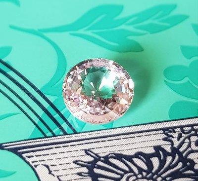 揚邵一品(附國際證)1.87克拉白粉色藍寶石~天然無燒,顏色細緻,火光閃鑠,白色剛玉值得擁有