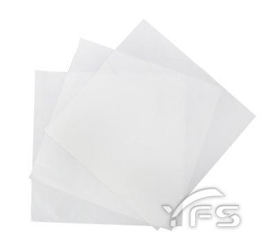 白牛紙-無印平張紙(300*300mm) (三明治/捲餅/防油紙/漢堡紙/餐墊紙/包裝紙/白報紙)