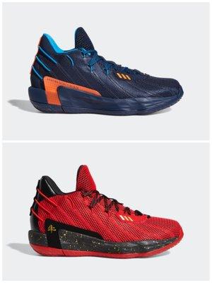 【豬豬老闆】ADIDAS DAME 7 GCA 反光 運動 訓練 籃球鞋 男款 藍橘FZ1103 紅黑FY3442