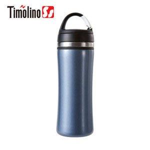 Timolino 隨身杯350ml (寶格藍)(不鏽鋼保溫杯/ 不銹鋼杯/ 隨手杯/ 環保杯) 【活動吊掛環設計】